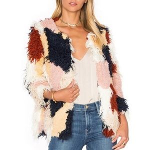 "Tularosa ""Pfeiffer"" faux fur coat S"